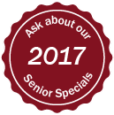 Ask about our 2017 Senior Special