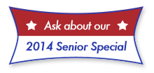 Ask about our 2012 Senior Special